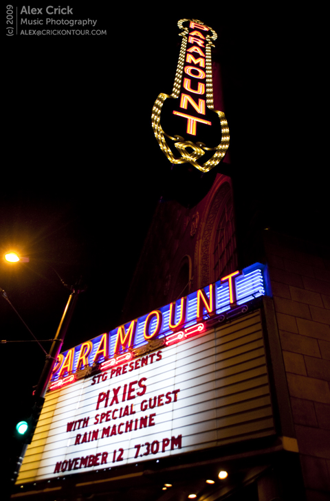 Pixes at The Paramount - Flickr