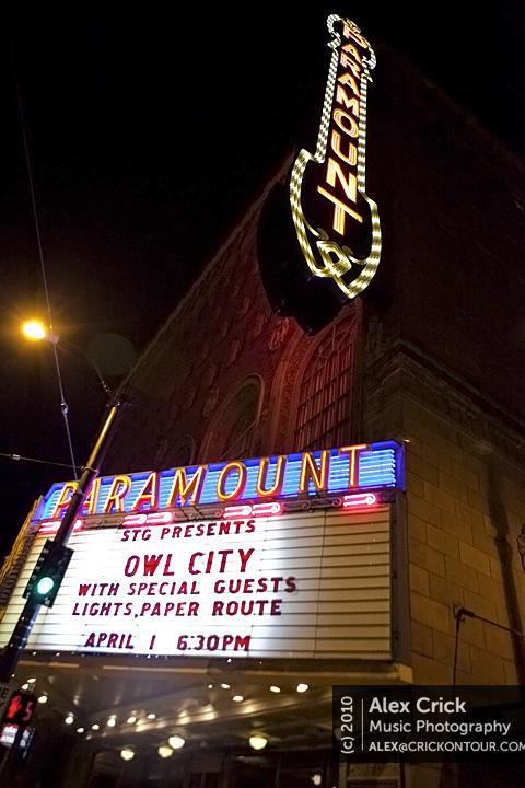 Owl City Marque