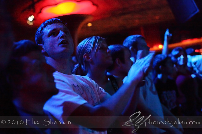 Crowd @ Floater CD release at the Showbox by Elisa Sherman