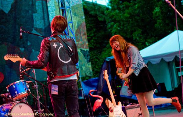 Bumbershoot 2010 - Jenny & Johnny 10
