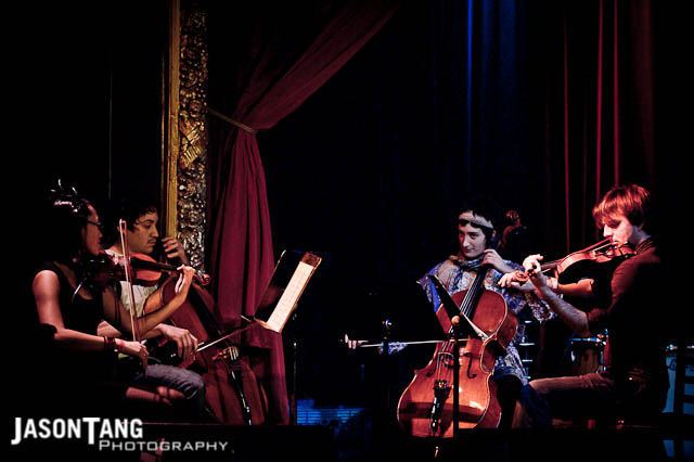 2010.12.04: Shenandoah Davis & The Passenger String Quartet @ Co