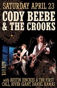 CBC @ The Crocodile - poster