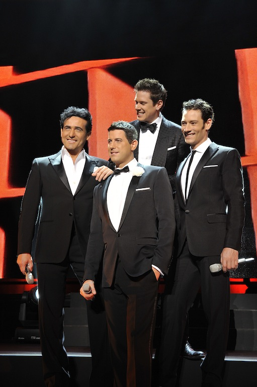 Back beat seattle show preview il divo the paramount tues 7 24 - Il divo website ...