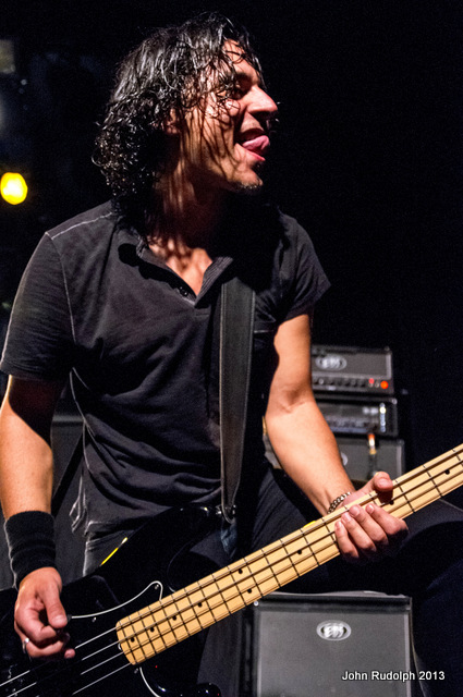Danko Jones Bassist (1 of 1)