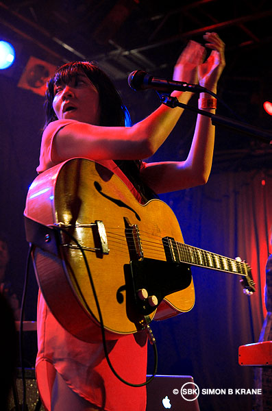 Thao & The Get Down Stay Down perform at Nuemos. 07.03.2013.