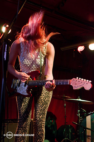 Bleached perform at Chop Suey. Seattle WA. 01 May 2013
