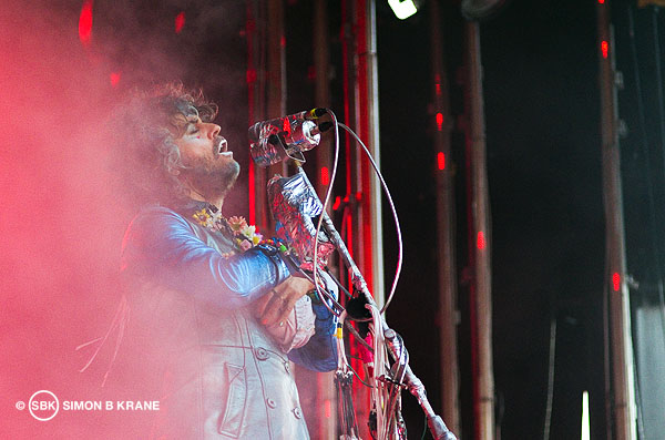 The Flaming Lips performs at the Capitol Hill Block Party. 26.07.2013