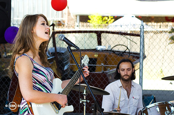 Whitney Lyman performs at Georgetown Neighbourhood. Seattle WA. 13.07.2013