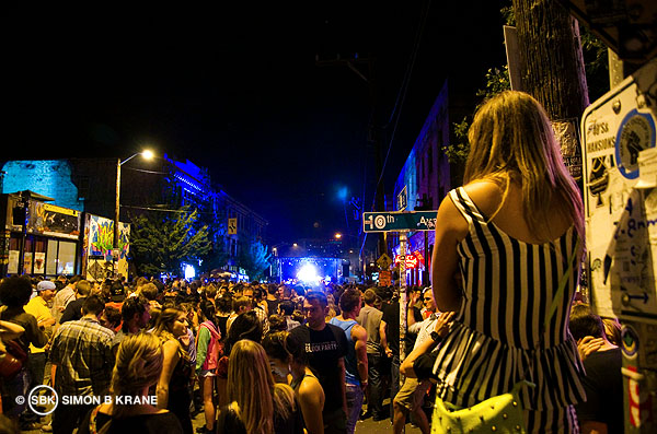 Girl Talk performs at the Capitol Hill Block Party. 26.07.2013