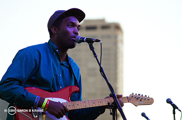 Onuinu performs at the Capitol Hill Block Party. 27.07.2013