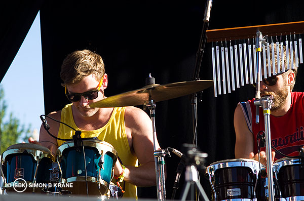 Vox Mod performs at the Capitol Hill Block Party. 27.07.2013