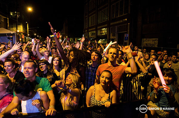 Wild Cub performs at the Capitol Hill Block Party. 27.07.2013