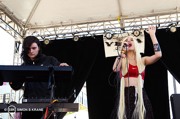 Youryoungbody performs at the Capitol Hill Block Party. 27.07.2013