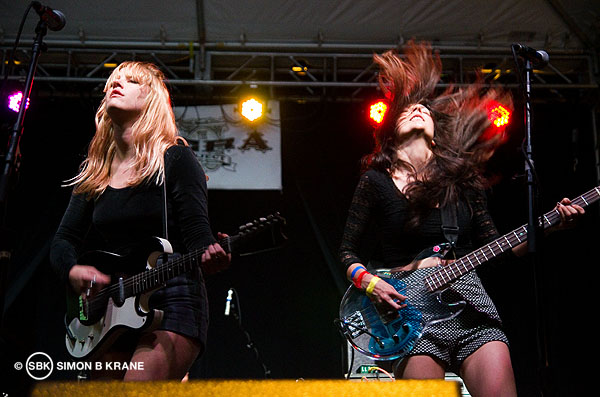 Bleached performs at the Capitol Hill Block Party. 26.07.2013