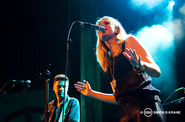 Blondfire perform at The Neptune Theatre, Seattle WA. 26.05.2013
