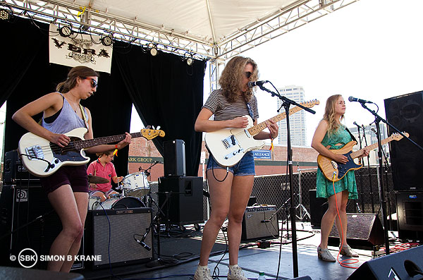 Chastity Belt performs at the Capitol Hill Block Party. 27.07.2013