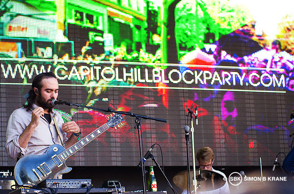 Cults performs at the Capitol Hill Block Party. 28.07.2013