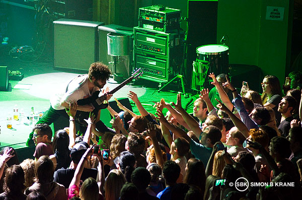 Foals perform at The Neptune Theatre, Seattle WA. 26.05.2013
