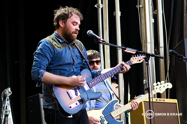 Frightened Rabbit performs at the Capitol Hill Block Party. 28.07.2013