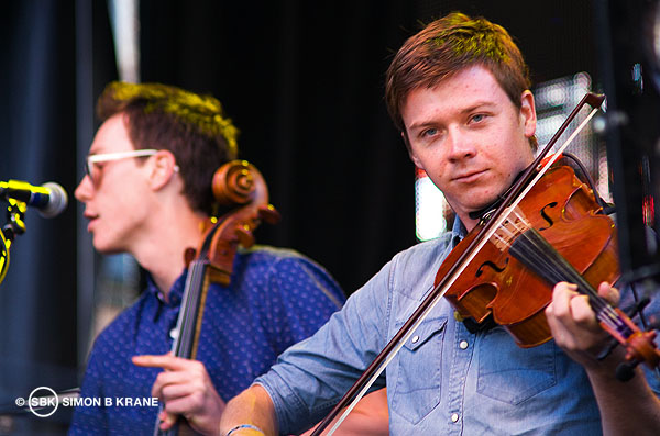 Hey Marseilles performs at the Capitol Hill Block Party. 28.07.2013