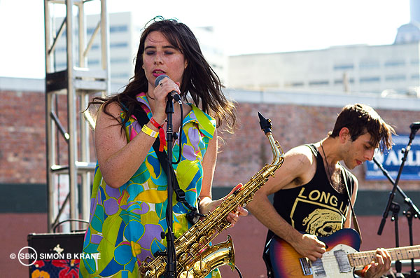 Stickers performs at the Capitol Hill Block Party. 26.07.2013