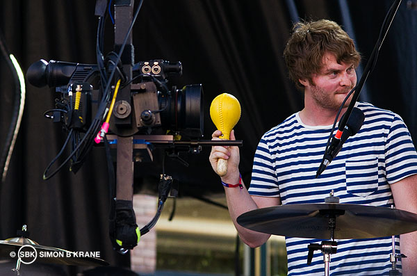 Telekinesis performs at the Capitol Hill Block Party. 26.07.2013