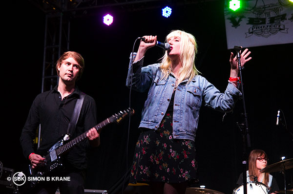 White Lung performs at the Capitol Hill Block Party. 26.07.2013