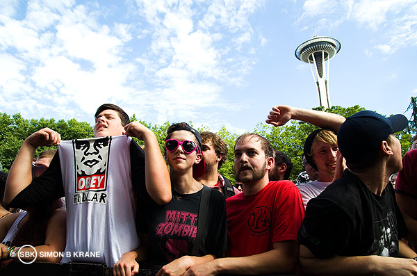 FIDLAR performs @ TuneIn Stage, Bumbershoot 2013. Seattle WA. 01.09.2013