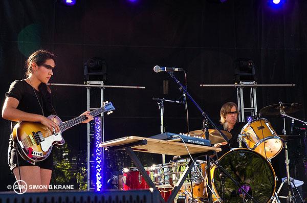 Katie Kate performs @ TuneIn Stage, Bumbershoot 2013. Seattle WA. 01.09.2013