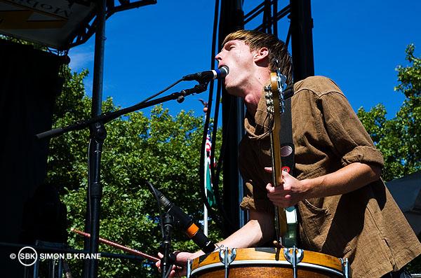 Kithkin performs @ TuneIn Stage, Bumbershoot 2013. Seattle WA. 01.09.2013