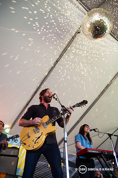 Matt Pond performs @ Soundwave Stage, Bumbershoot 2013. Seattle WA. 01.09.2013