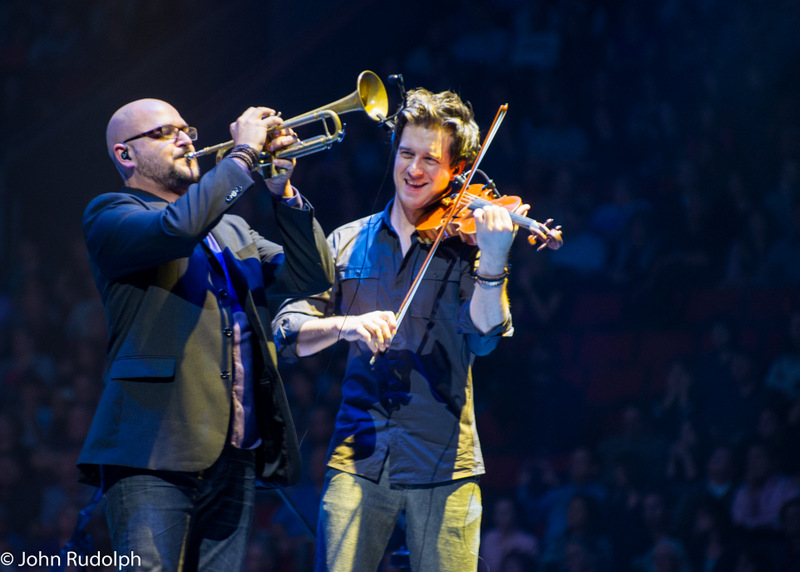 Josh Groban Violin and Trumpet (1 of 1)