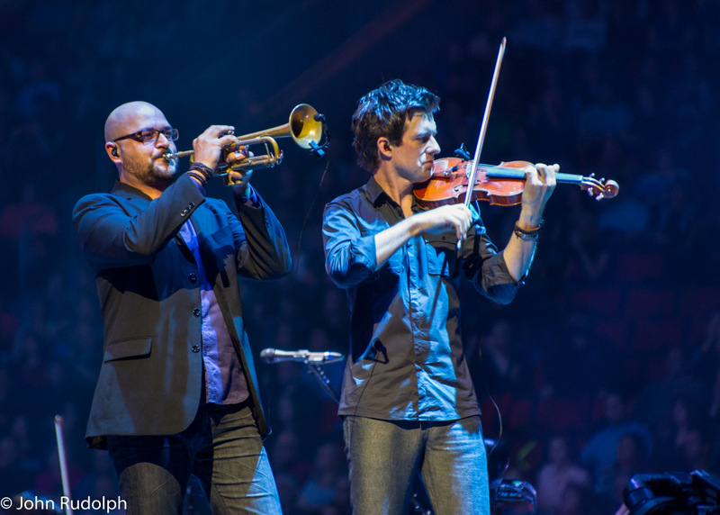 Josh Groban Violin and Trumpet2 (1 of 1)
