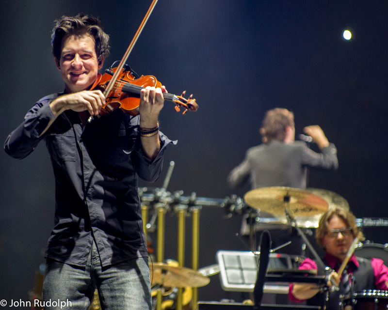 Josh Groban and Violin (1 of 1)