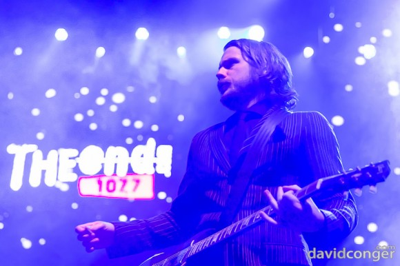 Arctic Monkeys at Deck The Hall Ball 2013
