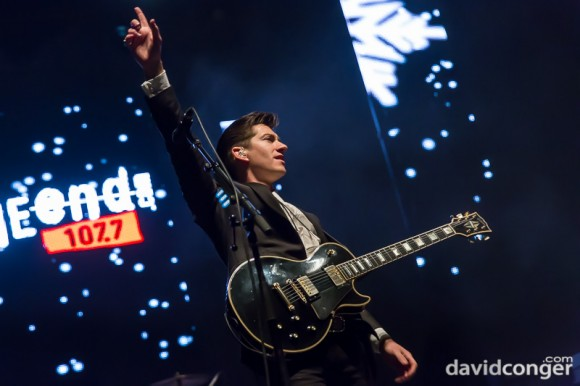 Arctic Monkeys at Deck The Hall Ball 2013