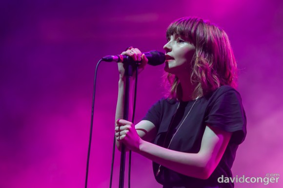 Chvrches at Deck The Hall Ball 2013
