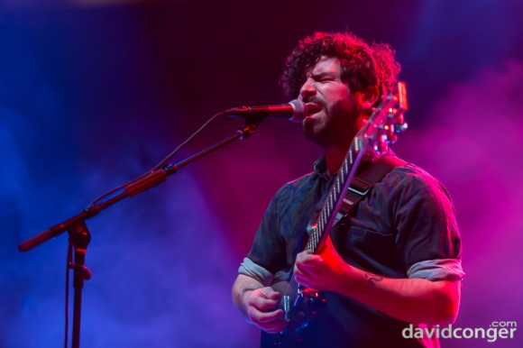 Foals at Deck The Hall Ball 2013