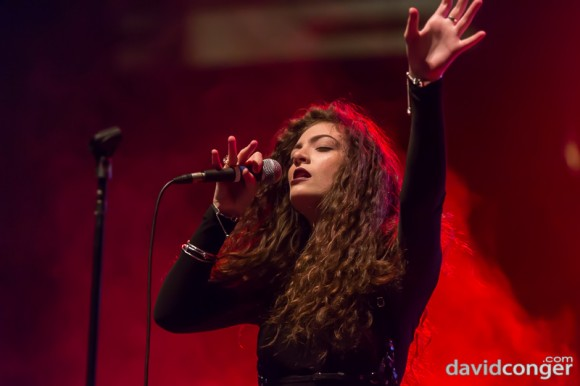 Lorde at Deck The Hall Ball 2013
