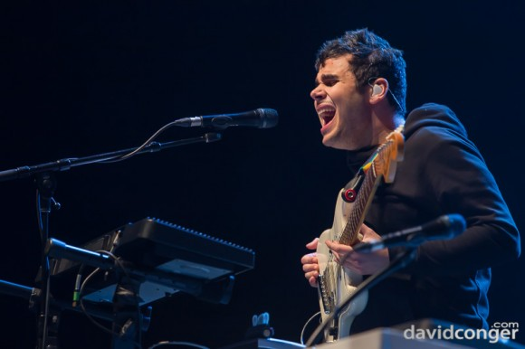 Vampire Weekend at Deck The Hall Ball 2013