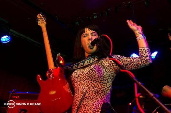Atomic Bride performs at Chop Suey. Seattle WA. 14.12.2013