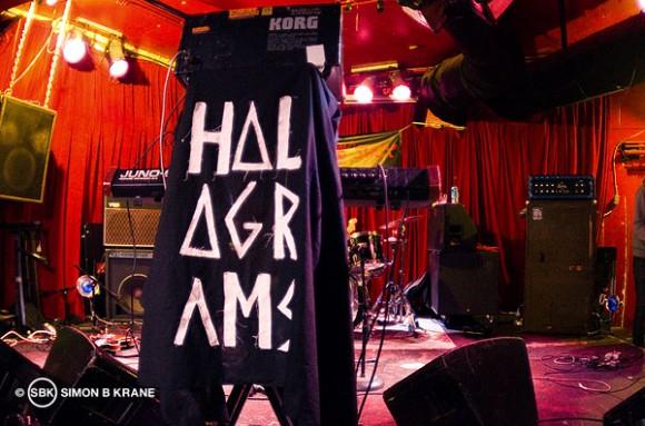 Holograms perform at Chop Suey. Seattle WA. 14.12.2013