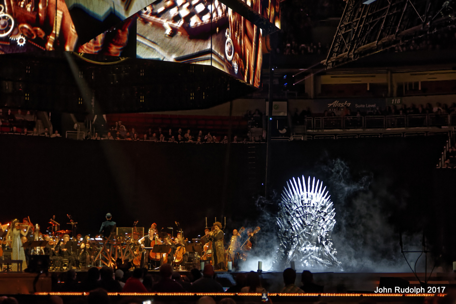 concert experience Game of thrones composer ramin djawadi and his team at hbo have created an incredible concert experience for fans of the show, and it's totally worth it.